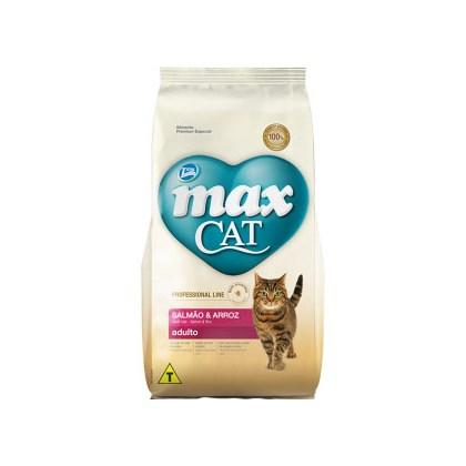 Ração Max Prof Line para Gatos Adultos Salmão Arroz 1kg