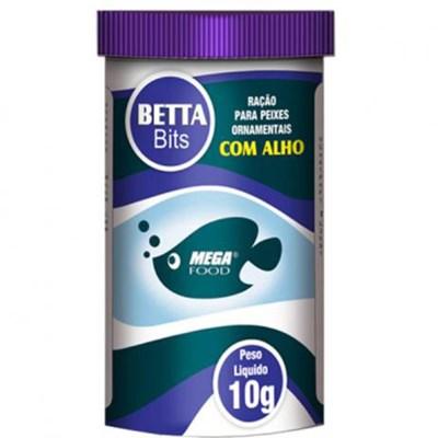 Ração Mega Food Bits para Peixe Betta 10g