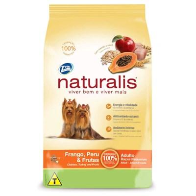 Ração Naturalis para Cães Adultos de Raças Pequenas Frango e Peru 15kg