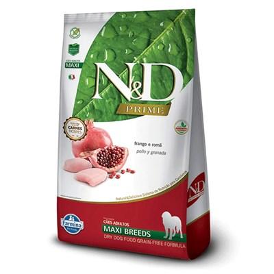 Ração ND Prime para Cães Adultos de Raças Grandes Frango 10,1kg