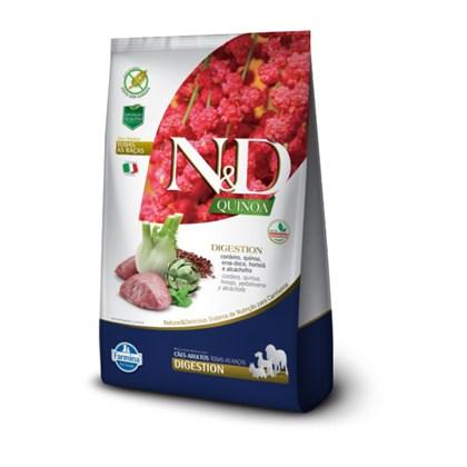 Ração ND Quinoa para Cães Adultos Digestion Cordeiro 10,1 kg
