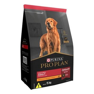 Ração Nestlé Purina Pro Plan Cachorros Adultos Raças Médias Frango 15kg