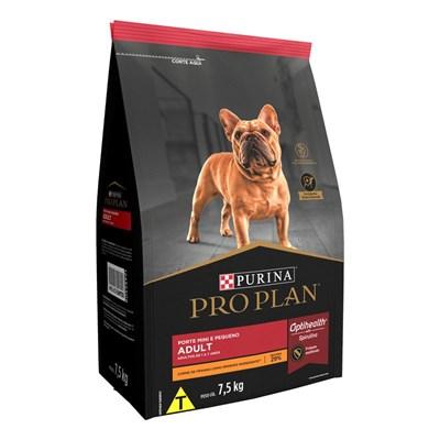 Ração Nestlé Purina Pro Plan para Cachorros Adultos Minis & Pequenos Frango 7,5kg