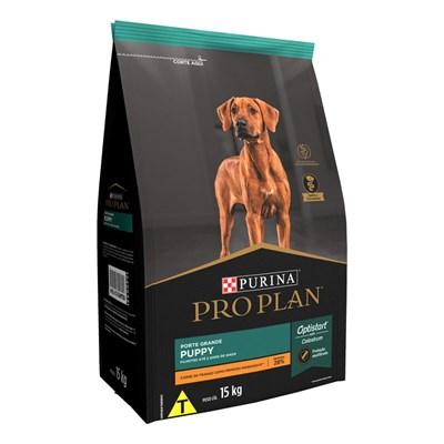 Ração Nestlé Purina Pro Plan Puppy para Cachorros Filhotes Grandes Frango 15kg