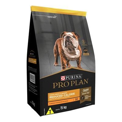 Ração Nestlé Purina Pro Plan Reduced Calorie para Cachorros Adultos Médios e Grandes Frango 15kg