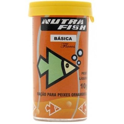 Ração Nutrafish Básica para Peixes 10g