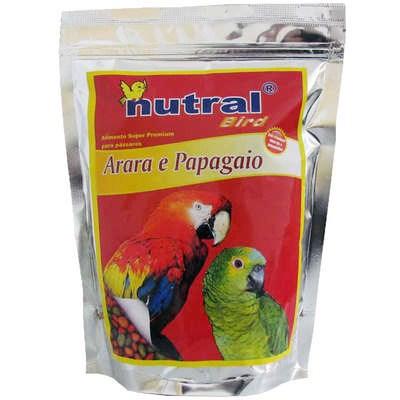 Ração Nutral Bird para Arara e Pagagaio 600g