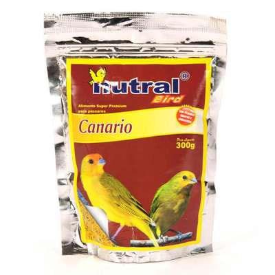 Ração Nutral Bird para Pássaros Canários 300g