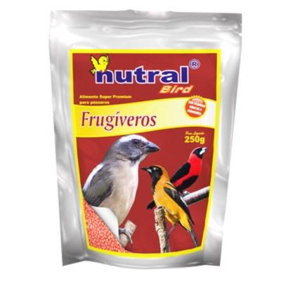 Ração Nutral Bird para Pássaros Frugíveros 250g