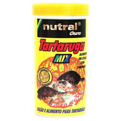 Ração Nutral Ouro para Tartaruga Mix Camarão 280gr