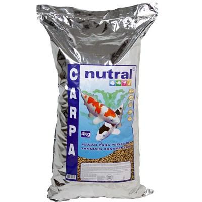 Ração Nutral para Peixes Carpas 4kg