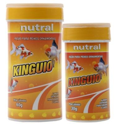 Ração Nutral para Peixes Kinguios 60GR