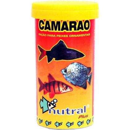 Ração Nutral Plus Camarão para Peixes 10g