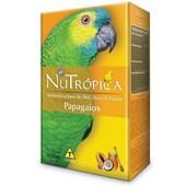 Ração Nutrópica Farinhada para Papagaio a Base de Mel Ovos e Frutas 300gr