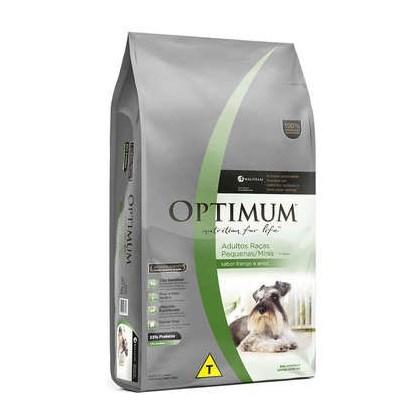 Ração Optimum Dry para Cães Adultos de Raças Pequenas e Miniaturas Frango Arroz 20kg