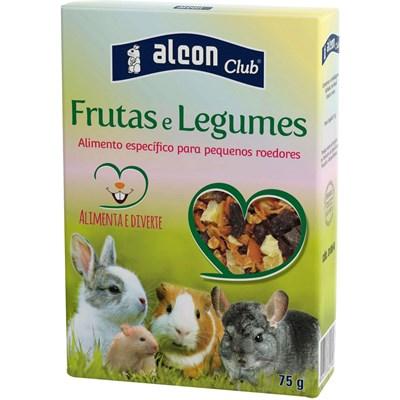 Ração para Roedores com Frutas e Legumes 75gr