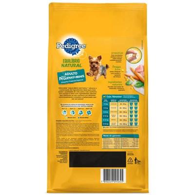 Ração Pedigree Equilíbrio Natural cachorros adultos raças pequenas 1,0kg