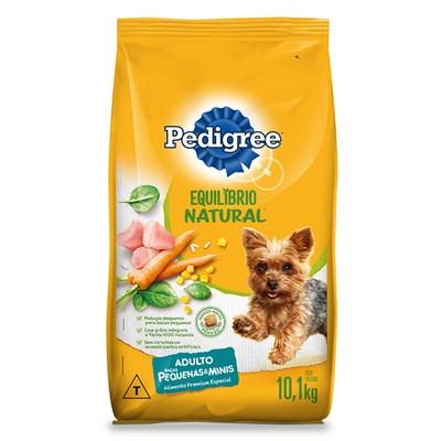 Ração Pedigree Equilíbrio Natural cachorros adultos raças pequenas 10,1kg