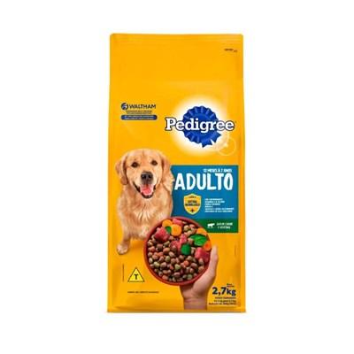 Ração Pedigree para cachorros adultos carne e vegetais 3,0kg