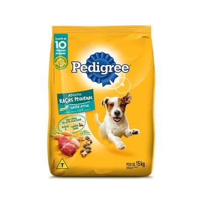 Ração Pedigree para cachorros adultos de raças pequenas 15,0kg