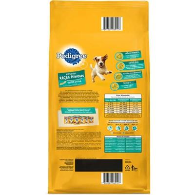 Ração Pedigree para cachorros adultos de raças pequenas 3,0kg