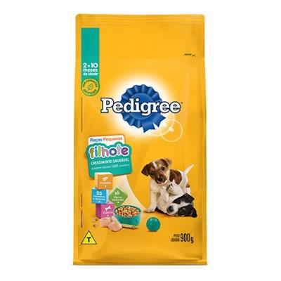 Ração Pedigree para cachorros filhotes de raças pequenas 900gr