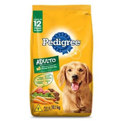 Ração Pedigree para Cães Adultos Carne e Vegetais 10 kg