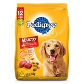 Ração Pedigree para Cães Adultos Carne Frango Cereais 15kg