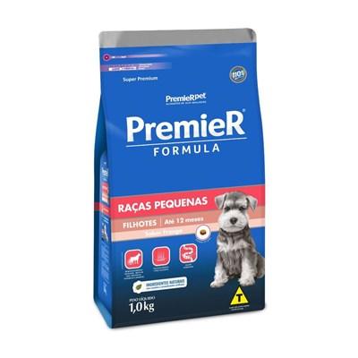 Ração PremieR Formula cachorros filhotes raças pequenas frango 1,0kg