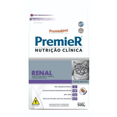 Ração Premier Nutrição Clínica Renal gatos adultos 500gr