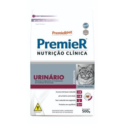 Ração PremieR Nutrição Clínica Urinária gatos adultos 500gr