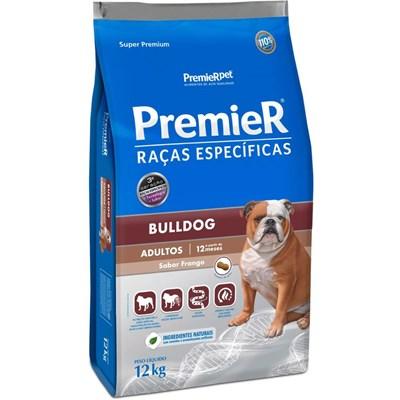 Ração Premier para Cães Adultos Bulldog 12kg