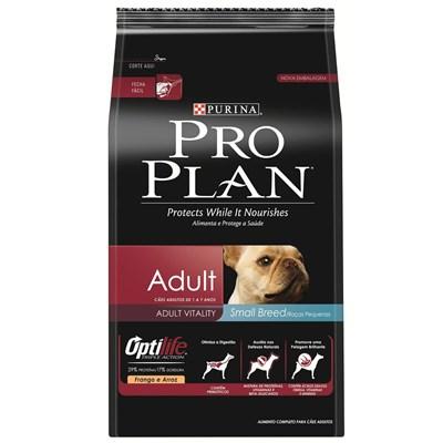 Ração Pro Plan para Cães Adultos de Raças Pequenas 2kg