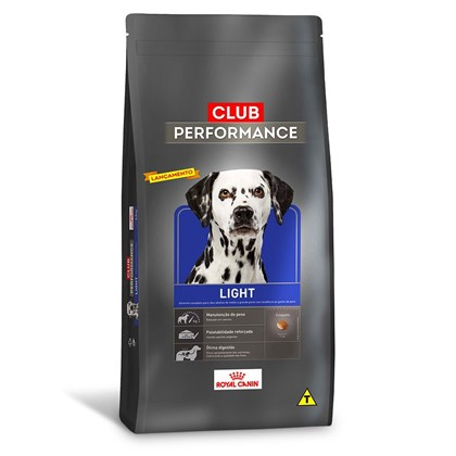 Ração Royal Canin Club Performance Light para Cães Adultos 2,5 kg
