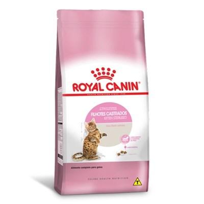 Ração Royal Canin Kitten Sterilised para Gatos Filhotes Castrados 4kg
