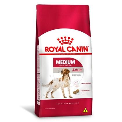 Ração Royal Canin Medium para Cães Adultos Porte Médio 15kg
