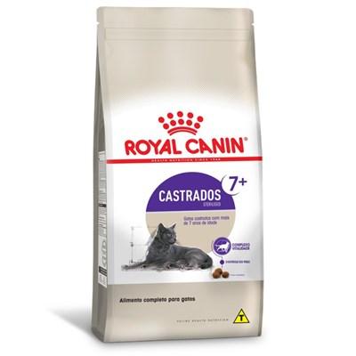 Ração Royal Canin para Gatos Adultos Castrados Sterilised 7+ 1,5kg