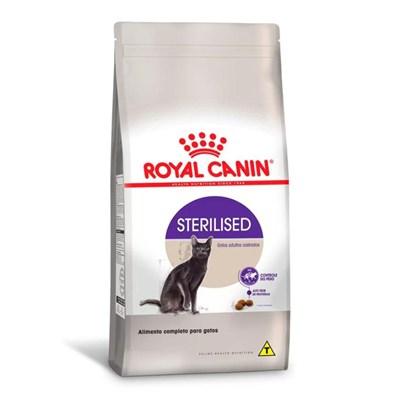 Ração Royal Canin Sterilised para Gatos Adultos Castrados 1,5kg