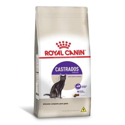 Ração Royal Canin Sterilised para Gatos Adultos Castrados 10,1kg