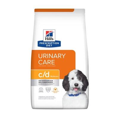 Ração Seca Hills Prescription Diet c/d para Cachorro Adulto Multicare Cuidado Urinário 3,85kg