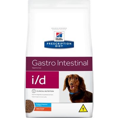 Ração Seca Hill's Prescription Diet i/d Gastro Intestinal Pedaços Pequenos para Cachorros Adultos 7,5kg