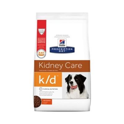 Ração Seca Hill's Prescription Diet k/d Kidney Care Cuidado Renal para Cachorros Adultos 3,8kg