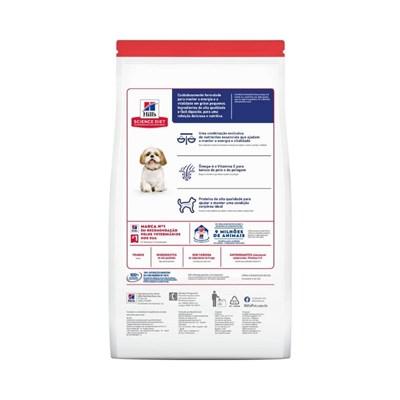 Ração Seca Hill's Science Diet para Cachorros Adultos 7+ Pedaços Pequenos 6kg