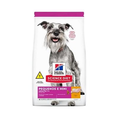 Ração Seca Hill's Science Diet para Cachorros Adultos 7+ Pequenos e Mini 2,4kg
