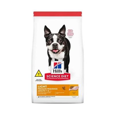 Ração Seca Hill's Science Diet para Cachorros Adultos Light Pedaços Pequenos 6kg