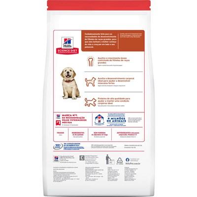 Ração Seca Hill's Science Diet para Cachorros Filhotes Raças Grandes 12kg