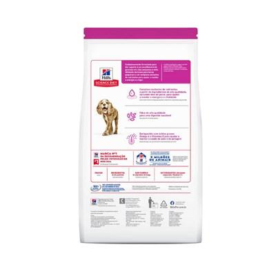 Ração Seca Hill's Science Diet para Cachorros Pequenos e Mini Adultos 11+ Frango 2,4kg