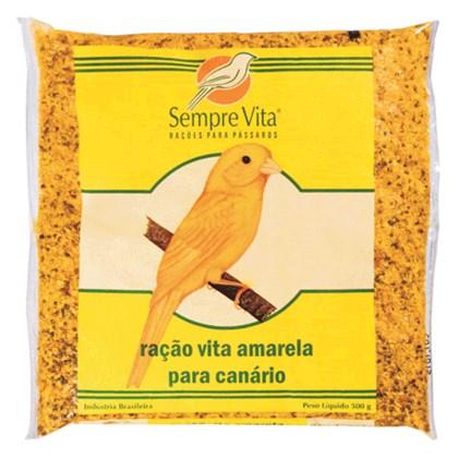 Ração Sempre Vita Amarela para Canários 500gr