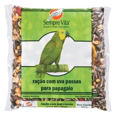 Ração Sempre Vita para Papagaios com Frutas 500gr