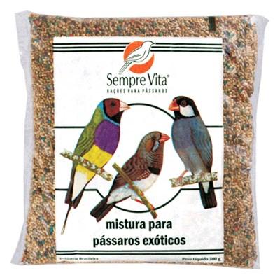 Ração Sempre Vita para Pássaros Exóticos 500gr